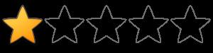 1/5 stars