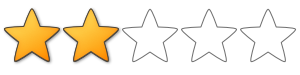 2/5 stars