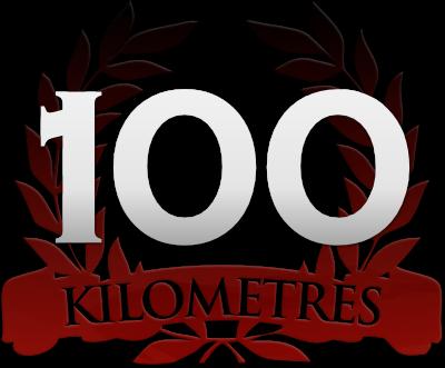 100 kilometres